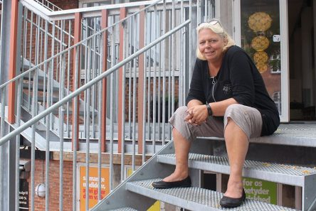 Susan Hedlund. Leder af Kvartershuset i Sydhavnen. Foto. Stine Falkenberg Kehler