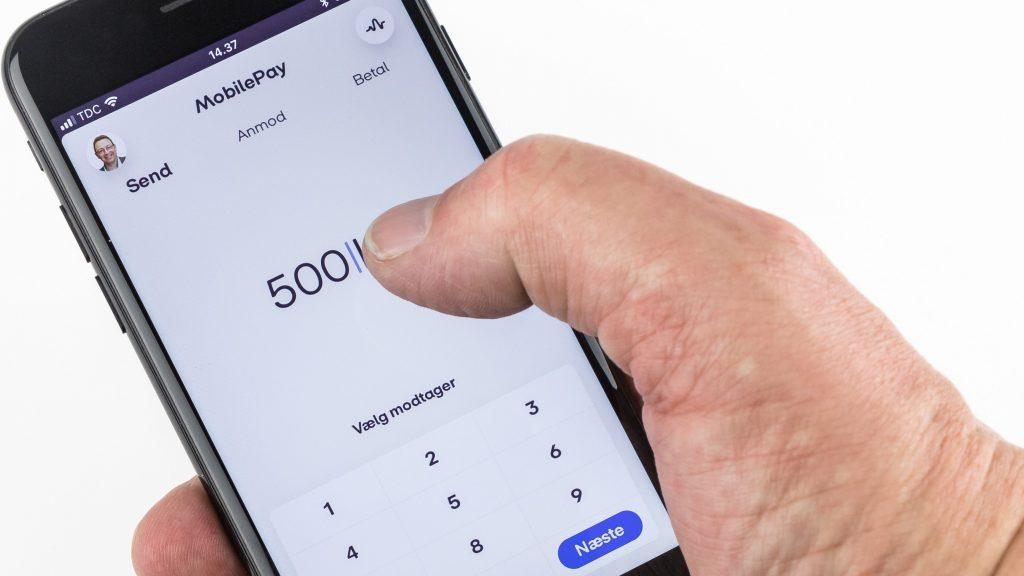 mobilepay uden kort