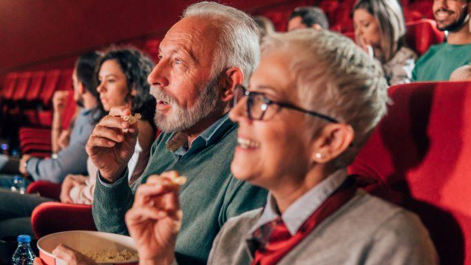 Senior popcorn film biografen