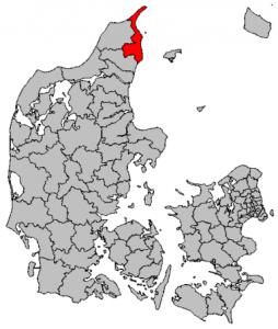 Kommunekort Frederikshavn