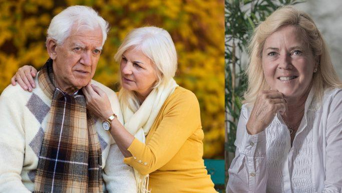 ældre par i skoven karen skjøtte psykolog