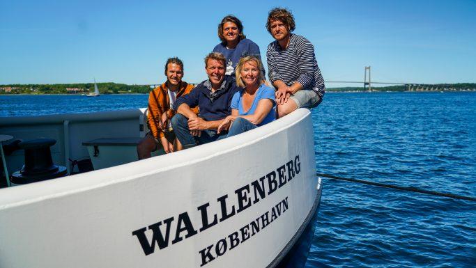 Kurs mod danske kyster - wallenberg mikkel beha