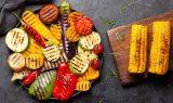 gril grøntsager i stedet for kød
