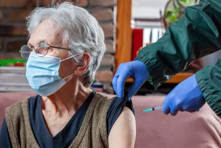 ældre vaccineres 3. gang